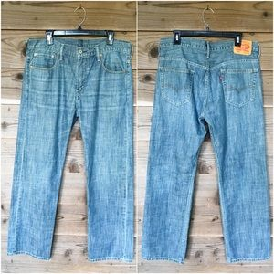 Levi's 100% Cotton 569 Med Wash Jeans Sz 34 x 32